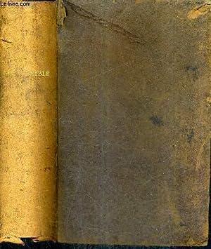 LA SAINTE BIBLE OU L'ANCIEN ET LE: J.F. OSTERVALD
