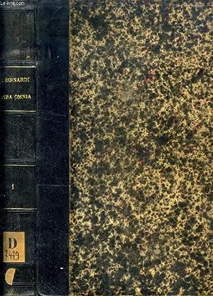 PATROLOGIAE CURSUS COMPLETUS, SERIES SECUNDA, TOMUS CLXXXII,: SANCTUS BERNARDUS, Cura