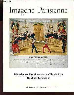 CATALOGUE DE L'EXPOSITION : IMAGERIE PARISIENNE XVIE-XIXe: COLLECTIF