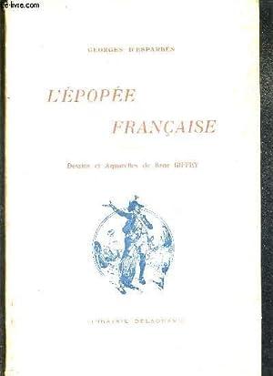 L'EPOPEE FRANCAISE.: D'ESPARBES GEORGES