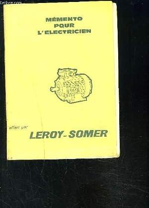 MEMENTO POUR L ELECTRICIEN- DECEMBRE 1968: COLLECTIF