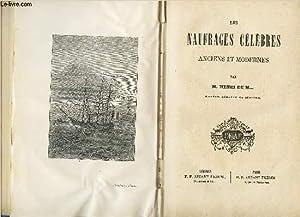 LES NAUFRAGES CELEBRES ANCIENS ET MODERNES: HENRI DE M. ( henri de Mannoury d'ectot).