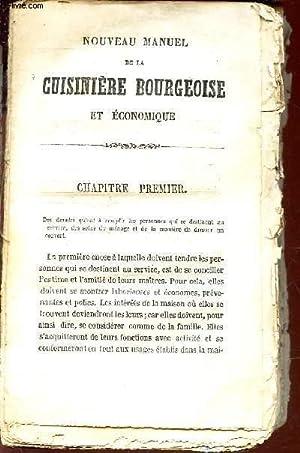 NOUVEAU MANUEL DE LA CUISINIERE BOURGEOISE ET: PAR UN ANCIEN