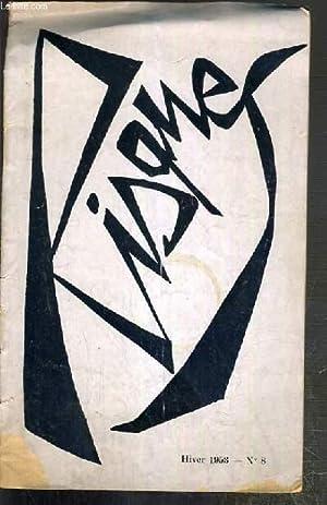 RISQUES - N°8 - HIVER 1953 - mardi gras, mondanités, l'interrogatoire, poeme, le ...