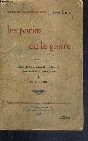 LES PARIAS DE LA GLOIRE - 1914-1918: BASTY FERNAND