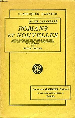ROMANS ET NOUVELLES: LAFAYETTE MADAME DE, Par E. MAGNE