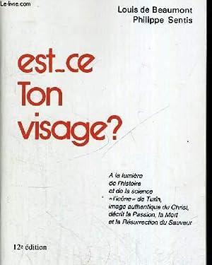 EST CE TON VISAGE ? 12 IEME EDITION: DE BEAUMONT LOUIS - SENIS PHILIPPE