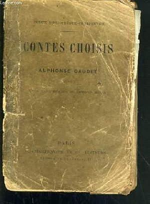 CONTES CHOISIS - PETITE BIBLIOTHEQUE-CHARPENTIER: DAUDET ALPHONSE