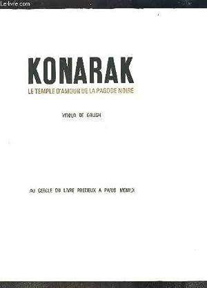 KONARAK LE TEMPLE D AMOUR DE LA PAGODE NOIRE: DE GOLISH VITOLD