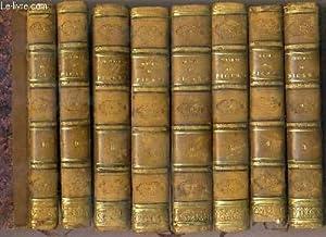 "OEUVRES DE L. B. PICARD - 8 TOMES - 3 + 4 + 5 + 6 + 7 + 8 + 9 + 10 - 6 VOLUMES ""THEATRE"" ..."