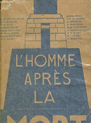 L HOMME APRES LA MORT: COLLECTIF