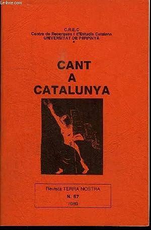 CANT A CATALUNYA (POESIES ESCOLLIDES) - CATALUNYA: GUAL RAMON