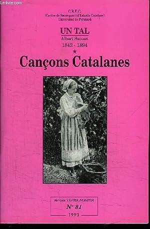 CANCONS CATALANES - UN TAL ALBERT SAISSET: GUAL RAMON