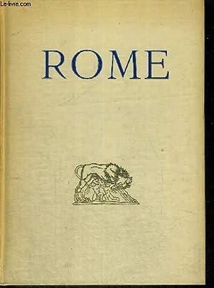ROME - 65 ILLUSTRATIONS ET PLANS EN HELIOGRAVURE: FAURE GABRIEL