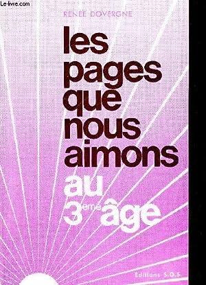 LES PAGES QUE NOUS AIMONS AU 3 IEME AGE: DOVERGNE RENEE