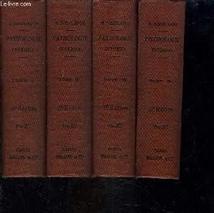 MANUEL DE PATHOLOGIE INTERNE- 4 TOMES EN: DIEULAFOY G.