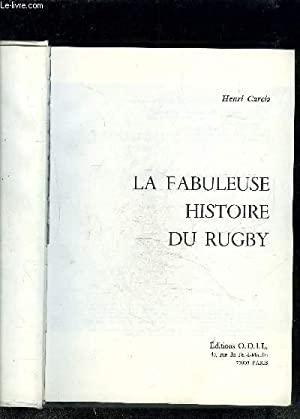 LA FABULEUSE HISTOIRE DU RUGBY: GARCIA HENRI