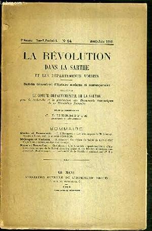 LA REVOLUTION DANS LA SARTHE ET LES: L'HERMITTE J.