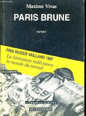 PARIS BRUNE: VIVAS MAXIME