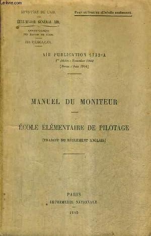MANUEL DU MONITEUR - ECOLE ELEMENTAIRE DE: COLLECTIF