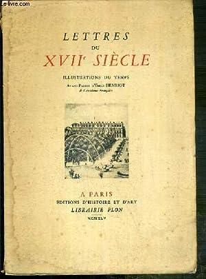 LETTRES DU XVIIe SIECLE - EXEMPLAIRE N°80.: COLLECTIF