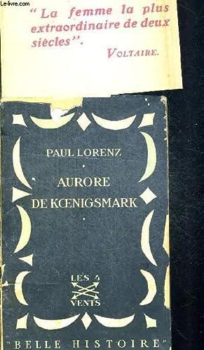 AURORE DE KOENIGSMARK - COLLECTION BELLE HISTOIRE: LORENZ PAUL, KLEIN-REBOUR