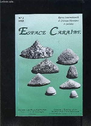 ESPACE CARAIBE- N°3- REVUE INTERNATIONALE DE SCIENCES HUMAINES ET SOCIALES- Les français...