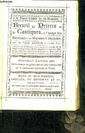 NOTRE-DAME DU ST-ROSAIRERECUEIL DE PRIERES ET DE: ABBE SAURIN