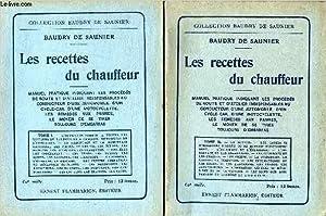 LES RECETTES DU CHAUFFEUR - en 2: BAUDRY DE SAUNIER