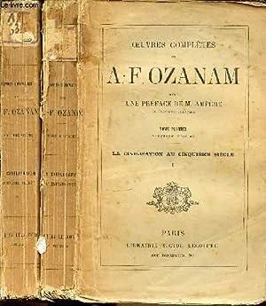 OEUVRES COMPLETES DE A.-F. OZANAM EN 2: OZANAM A.-F.