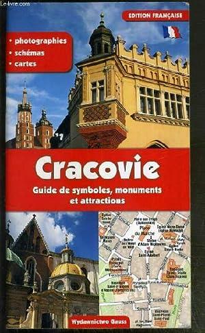 CRACOVIE - GUIDE DE SYMBOLES, MONUMENTS ET ATTRACTIONS - PHOTOGRAPHIES - SCHEMAS - CARTES: ...