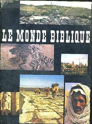 LE MONDE BIBLIQUE - 95 PHOTOGRAPHIES PAR: WILDBERGER HANS