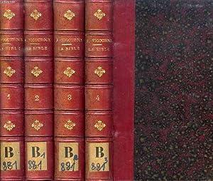LA BIBLE ET LES DECOUVERTES MODERNES EN PALESTINE, EN EGYPTE ET EN ASSYRIE, 4 TOMES: VIGOUROUX F.