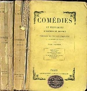 COMEDIES ET PROVERBES EN 2 TOMES : DE MUSSET ALFRED