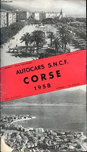 AUTOCARS S.N.C.F. CORSE 1958.: COLLECTIF