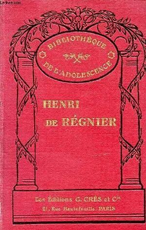 CONTES ET ROMANS - BIBLIOTHEQUE DE L'ADOLESCENCE.: DE REGNIER HENRI