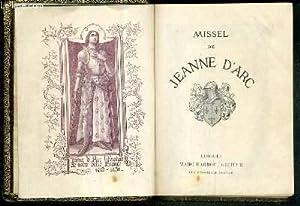 MISSEL DE JEANNE D'ARC - N°49: COLLECTIF