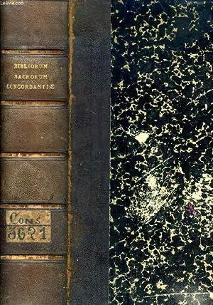 VULGATAE EDITIONIS BIBLIORUM SACRORUM CONCORDANTIAE: DUTRIPON F. P.