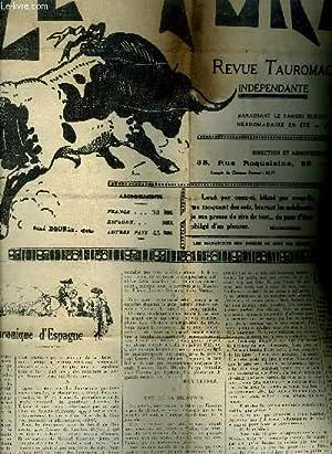 LE TORIL REVUE TAUROMACHIQUE N°559 17E ANNEE: COLLECTIF