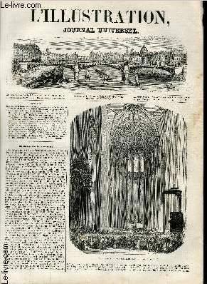 L'ILLUSTRATION JOURNAL UNIVERSEL N° 116 - Histoire de la Semaine. Grande messe en musique ...