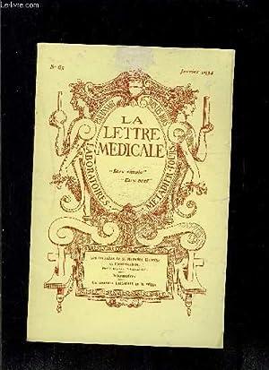 LE LETTRE MEDICALE- N° 65 - jan: REGNAULT Dr