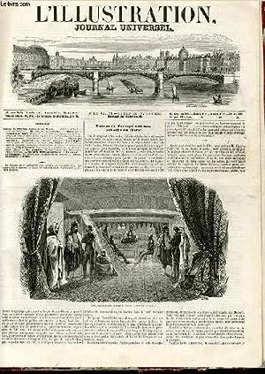 L'ILLUSTRATION JOURNAL UNIVERSEL N° 157 - Retour de Sldl-ben-Achaclie au Maroc. — ...