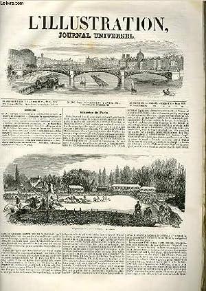 L'ILLUSTRATION JOURNAL UNIVERSEL N° 216 - Courrlrr de Paris. Sleeple-chase de la ...