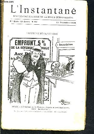 REVUE L INSTANTANE N°50- 11 décembre 1915-: COLLECTIF