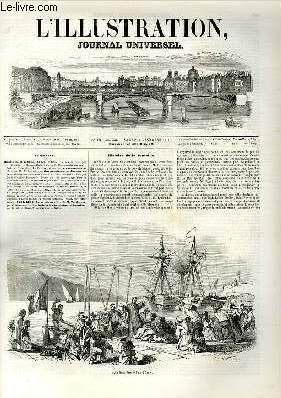 L'ILLUSTRATION JOURNAL UNIVERSEL N° 302-Histoire de 1a semaine. Le pape à Ga&egrave...