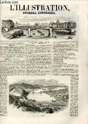 L'ILLUSTRATION JOURNAL UNIVERSEL N° 328-Histoire de 1« semaine. Bude et Pestk, sur ...