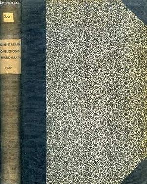 COMMENTARIUM PRO RELIGIOSIS ET MISSIONARIIS, ANN. XXVI,: COLLECTIF