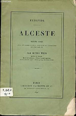 Alceste - Euripide