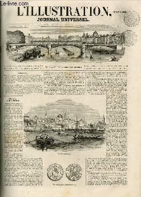 L'ILLUSTRATION JOURNAL UNIVERSEL N° 516-Histoire de la semaine.   Courrier de Paris.   ...
