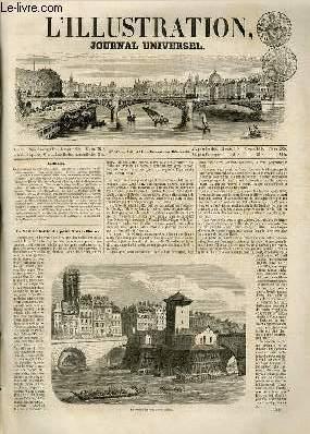 L'ILLUSTRATION JOURNAL UNIVERSEL N° 539-La Samaritaine du pont Notre-Dame. — Histoire de ...